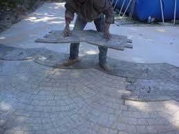 prix beton decoratif m2 béton imprimé beton decoratif exterieur sted concrete