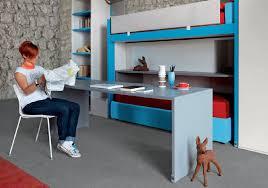 bureau gigogne bureau en stratifié contemporain avec lit gigogne pour