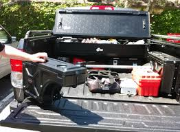 A Clever Truck-Bed Storage System | Tools Of The Trade | Fleets ... Decked Adds Drawers To Your Pickup Truck Bed For Maximizing Storage Adventure Retrofitted A Toyota Tacoma With Bed And Drawer Tuffy Product 257 Heavy Duty Security Youtube Slide Vehicles Contractor Talk Sleeping Platform Diy Pick Up Tool Box Cargo Store N Pull Drawer System Slides Hdp Models Best 2018 Pad Sleeper Cap Pads Including Diy Truck Storage System Uses Pinterest