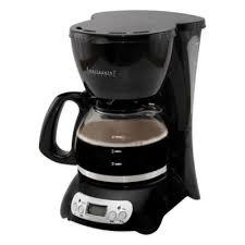 Digital 4 Cup Coffee Maker In Black