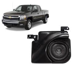 2007-2013 Chevy Silverado Ext Cab Truck Loaded Kicker 10