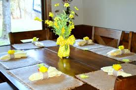 Spring Dining Room Table Decorations