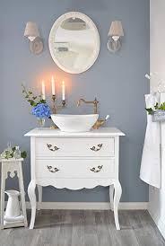 romantischer landhaus waschtisch waschbecken mit