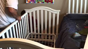 Bratt Decor Crib Assembly Instructions by Baby Crib Assembly Time Lapse Youtube