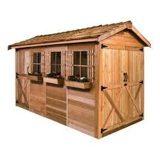 amazon com shed 16 x 8 ft boathouse garden shed storage sheds