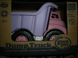 100 Pink Dump Truck JS REVIEWS AND GIVEAWAYS Green Toys Review And