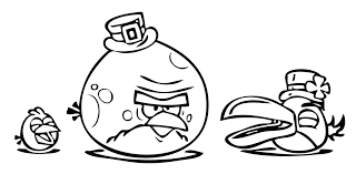Angry Birds Printable Coloring Pages Corresponsablesco