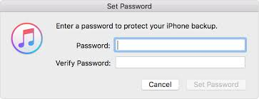 About encrypted backups in iTunes Apple Support