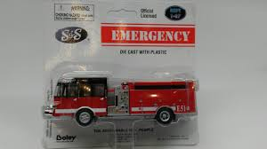 100 Boley Fire Trucks Buffalo Road Imports SS Crew Cab 2Axle Ladder Truck Red