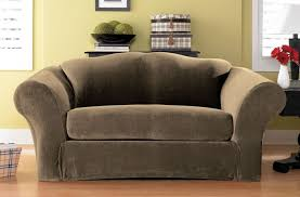 Stretch Slipcovers For Sleeper Sofas by Sure Fit Stretch Pique Box Cushion Sofa Slipcover U0026 Reviews Wayfair