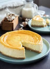 recette avec ricotta dessert recette cheesecake ricotta speculoos caramel beurre salé