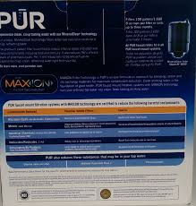 Pur Faucet Adapter Leaking by Pur Fm 9000b Faucet Mount Water Filter Stainless Steel Style