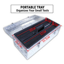 Aluminium Tool Box Truck Storage W/ Lockable Hatch & Tray & Handle ... Pickup Box Whosale Boxes Suppliers Aliba 548502 Weather Guard Ca Underbody Tool Home Depot Truck Storage The 53 Alinium Tbc 30 Uws Alinum Toolbox Standard Autozone Full Image For Small Bed Wheel Liner Images Collection Of Campwayus Truck Accessory 71404980 Drawer Trucks Sliding Drawers 50 Amazoncom 121501 Low Profile Saddle Pegboard Organization Gladiator Units With Midsize Husky Size Chequer Plate Chest Trailer Van Hgv