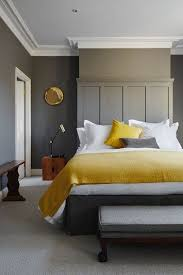 Colour Pop Mustard And Grey BedroomGrey