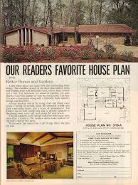 The Retro Home Plans by Excellent Design Ranch House Plans From The 1970s 1 Vintage 1970s