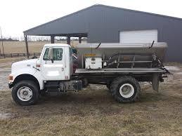 100 Fertilizer Truck 2000 International 4900 Series Lime Spreader