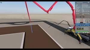 100 Concrete Pumper Truck Construction Vehicle Animation Tutorial Pump YouTube