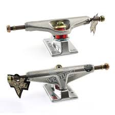 Venture V-Hollow Lo 5.0 Polished Skateboard Trucks /(Set Of 2 ...