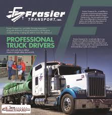 100 All American Trucking Ad Flyer For Frasier Transport From Idaho PressTribune