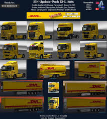 JBK-UPDATE-PACK DHL 2016 V2 | ETS2 Mods | Euro Truck Simulator 2 ... Dhl Truck Editorial Stock Image Image Of Back Nobody 50192604 Scania Becoming Main Supplier To In Europe Group Diecast Alloy Metal Car Big Container Truck 150 Scale Express Service Fast 75399969 Truck Skin For Daf Xf105 130 Euro Simulator 2 Mods Delivery Dusk Photo Bigstock 164 Model Yellow Iveco Cargo Parked Yellow Delivery Shipping Side Angle Frankfurt