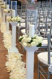 Image result for how to hand make wedding pillars and columns