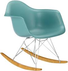 chaise a bascule eames la chaise à bascule rar signé eames par vitra lecatalog