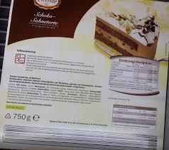 confiserie firenze lidl schoko sahnetorte kalorien