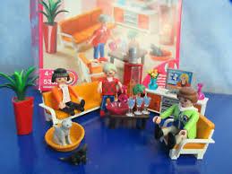 details zu 5332 modernes wohnzimmer flack kamin figur zu 9266 4279 wohnhaus playmobil 2260