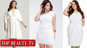 top plus size white dress plus size party dresses for women youtube