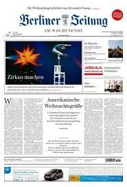 berliner zeitung 22 12 2018