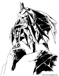 Cool Batman Comic Coloring Pages