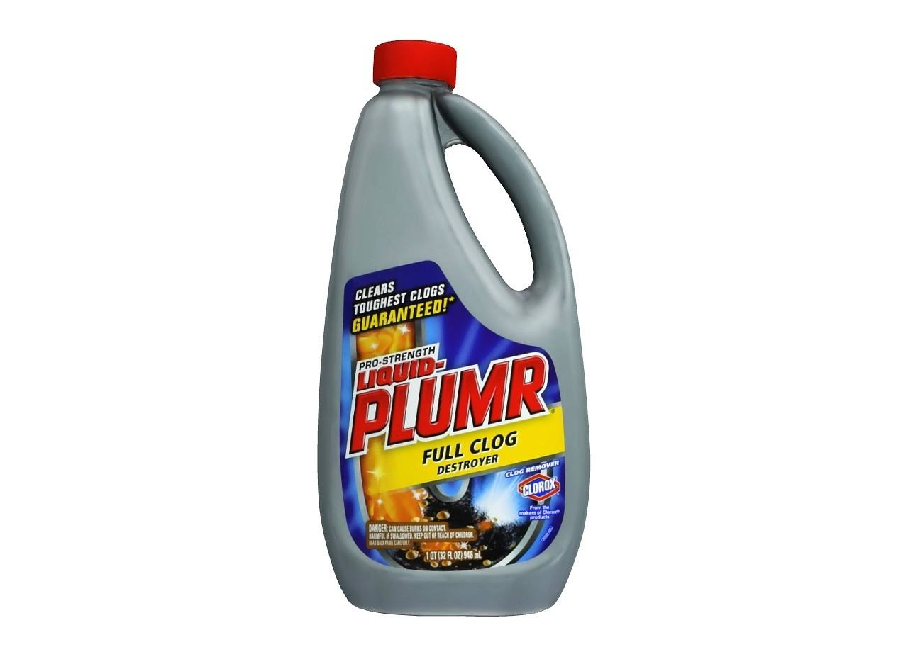 Clorox Liquid-Plumr Pro-Strength Full Clog Destroyer Clog Remover - 1qt