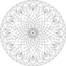 Print Coloring Free Printable Mandalas Pages Adults With Picture Mandala