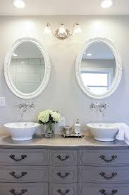 Best Paint Color For Bathroom Cabinets by Best 25 Double Sink Vanity Ideas On Pinterest Double Sink