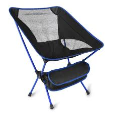 Ultra Light Portable Folding Camping Chair With Free Carry Bag For  Outdoors, Camping, Backpacking, Beach, Travel