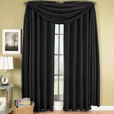 Noise Reducing Curtains Target by Soho Scarf Window Treatment