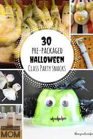 Poems About Halloween For Adults by Pre Packaged Halloween Class Party Snack Ideas Snacks Ideas