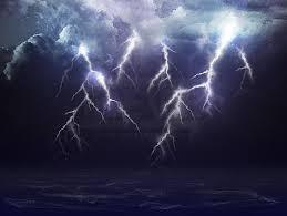 Rain Lightning Furious Ocean The Perfect Storm