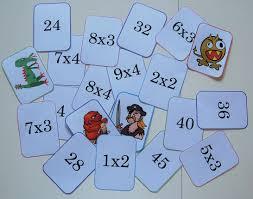 jeu pour compter mistigris des tables de multiplication tables