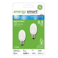 ge 2 pack led light bulbs shopko