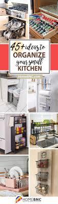 Kitchen Storage Ideas Pictures 45 Best Small Kitchen Storage Organization Ideas And
