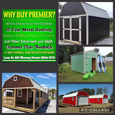 Wood Sheds Ocala Fl by Premier Portable Buildings Of Florida Home Facebook
