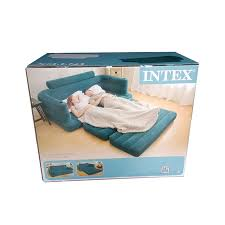 Intex Inflatable Pull Out Double Sofa Bed by Intex Pull Out Sofa Bed Centerfieldbar Com