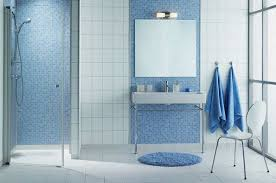 blue mosaic tile bathroom regarding comfy iagitos