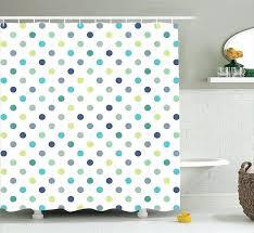 shower curtains polka dot shower curtain bathroom inspirations