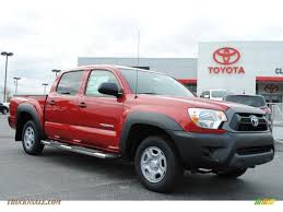 2014 Toyota Tacoma Double Cab In Barcelona Red Metallic - 037225 ...