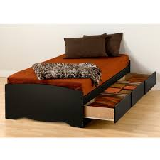 Extra Long Twin Storage Bed