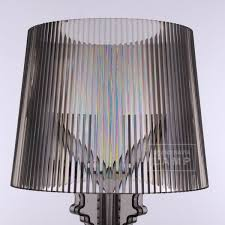 Kartell Bourgie Lamp Silver by Modern Replica Bourgie Table Lamp Scandinavia Lamp Manufacturer