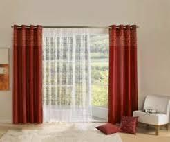 details zu dekogarnitur übergardine seitenschals store ösenschals gardine vorhang hö175cm