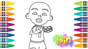 Coloring Pages Upin Ipin Colouring For Kids Learn Colors 2017